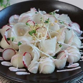 Salad trái lê