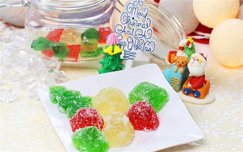 Cách Làm Kẹo Dẻo Cho Giáng Sinh Xinh Xắn, Cực Ngon