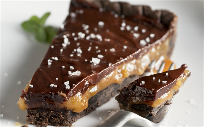 Cách làm Bánh Tart Chocolate 2 Lớp đơn giản như ngoài tiệm