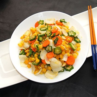Cách làm rau củ xào thập cẩm chay