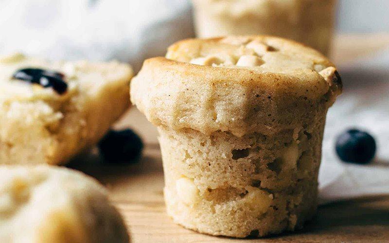 Cách làm bánh muffin chocolate trắng