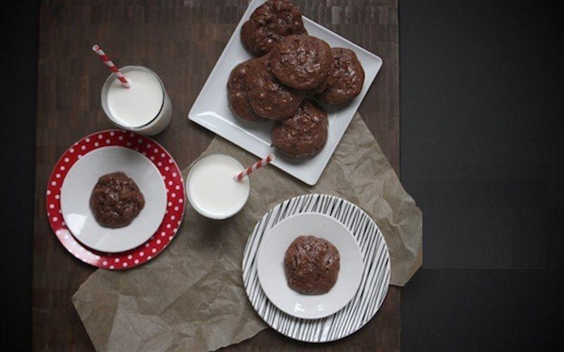 Cách Làm Bánh Quy Chocolate Hạnh Nhân Dừa Đơn Giản