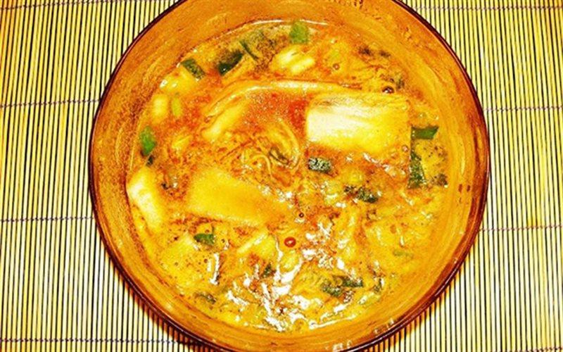 Cách Làm Canh Kim Chi Với Cá Thu, Cho Ngày Mưa