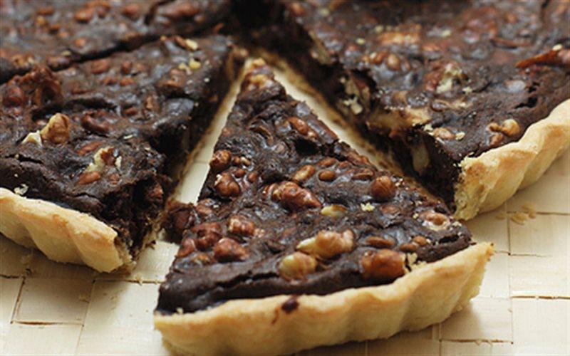 Cách Làm Bánh Tart Chocolate Đậu Đỏ Thơm Ngon