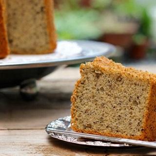 Cách làm bánh chiffon mè đen