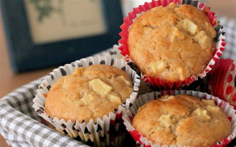 Cách Làm Bánh Muffin Táo Quế Mềm Xốp Đơn Giản