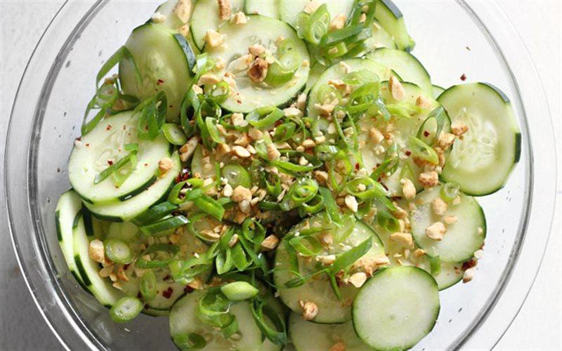 Cách Làm Salad Dưa Leo Chua Cay Đơn Giản Tại Nhà