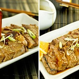 Thịt bò sốt kiểu Nhật