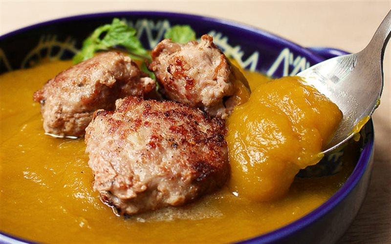 Cách Làm Soup Bí Đỏ Thịt Viên Thơm Ngon Bổ Dưỡng