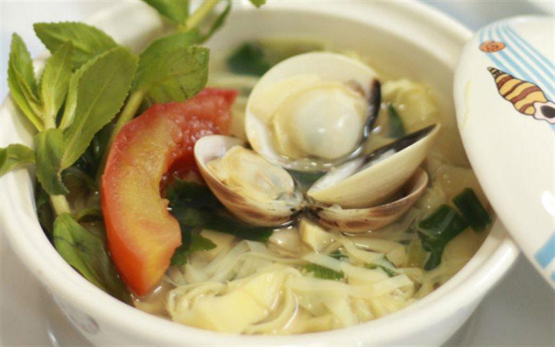 Cách làm Canh Măng Nấu Ngao lạ miệng đưa cơm cho bữa ăn nhà