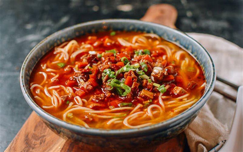 Cách làm Mì Cay Thượng Hải đơn giản thơm ngon như nhà hàng