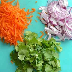 Salad thịt bằm