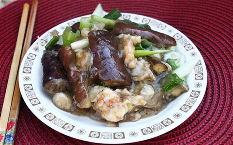 Cách Làm Cà Tím Xào Tôm Thịt Ăn Cơm Cực Ngon Lành