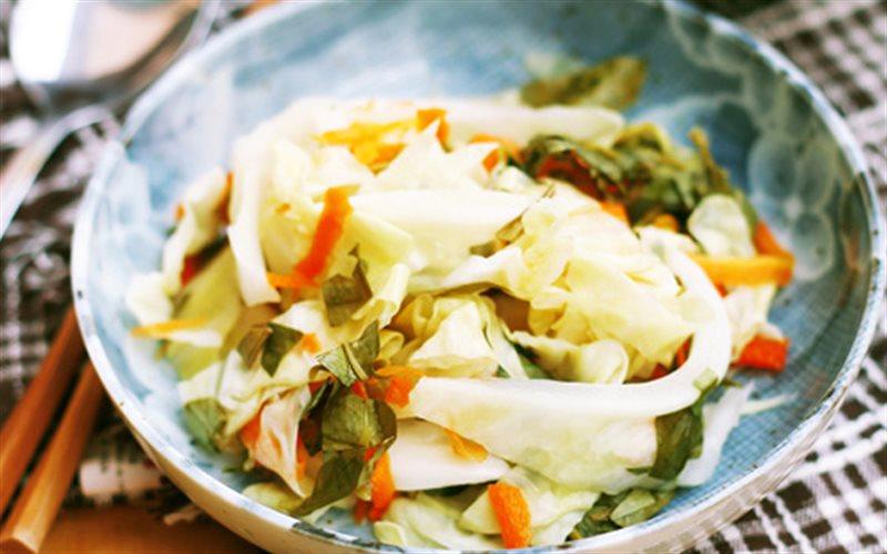 Cách làm Bắp Cải Muối Xổi ăn liền, chống ngán cho bữa cơm