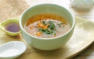 Soup cải xá bấu