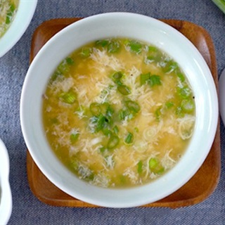 Cách nấu súp trứng