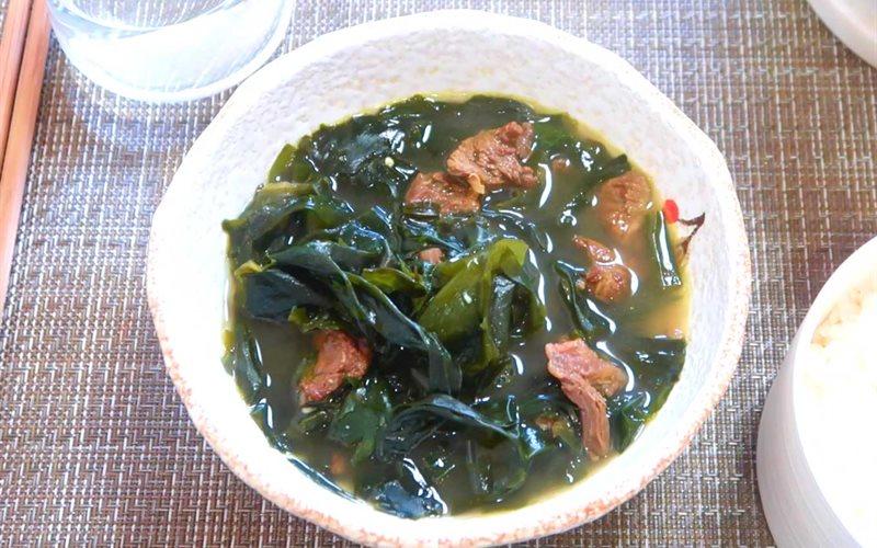 Cách nấu Canh rong biển chuẩn Hàn