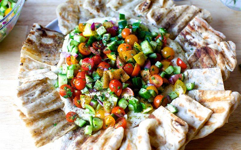 Cách làm salad cà chua bi
