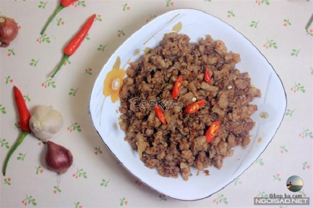 Cách Làm Mắm Tép Chưng Thịt đậm đà cực kì đưa cơm - ảnh 2.