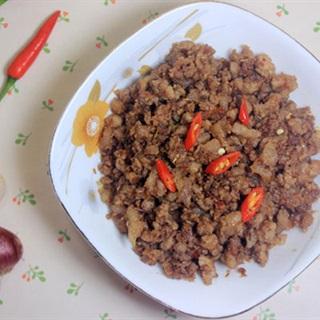 Cách Làm Mắm Tép Chưng Thịt | Đậm Đà, Đưa Cơm