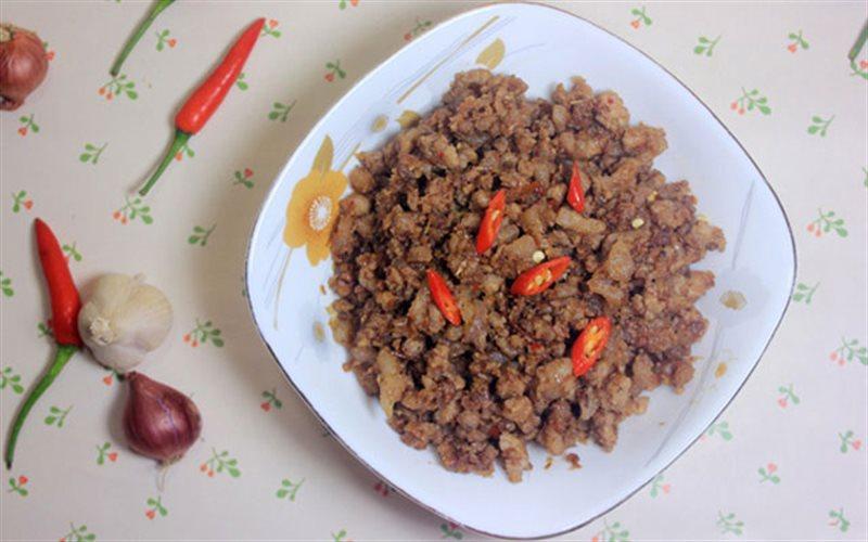 Cách Làm Mắm Tép Chưng Thịt | Đơn Giản, Vị Đậm Đà
