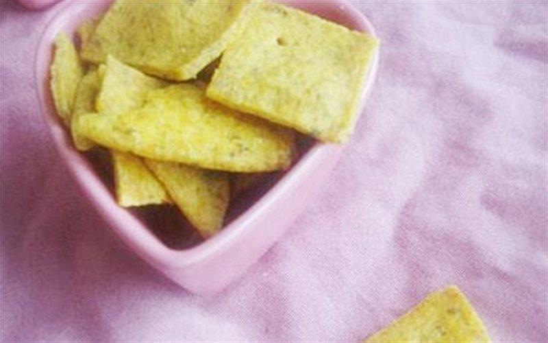Cách Làm Bánh Quy Vị Cà Ri Lạ Miệng, Cực Thơm Ngon