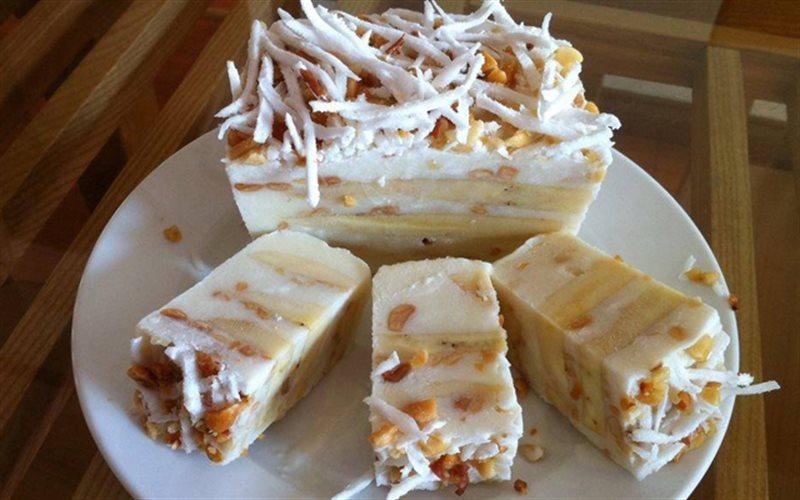 Cách Làm Kem Chuối Đậu Phộng Dừa Mát Lạnh Ngày Hè