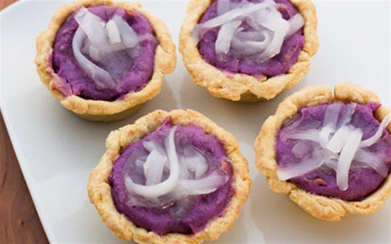 Cách Làm Bánh Cupcake Khoai Lang Tím Thơm Ngon