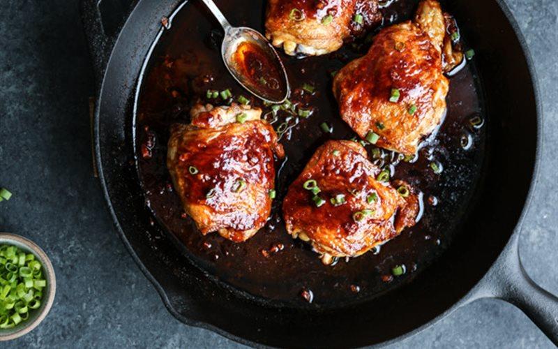 Cách làm Thịt gà nướng sốt tương ớt Hàn Quốc