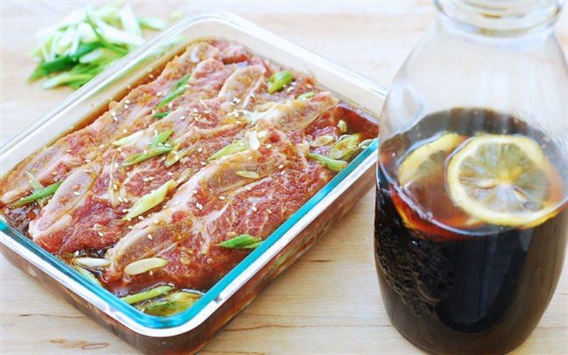 Cách làm nước sốt ướp thịt nướng BBQ Hàn Quốc