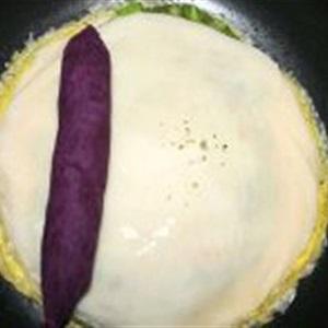 Trứng cuộn khoai lang