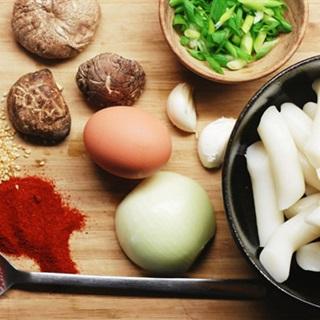 Bánh gạo chay kiểu Hàn