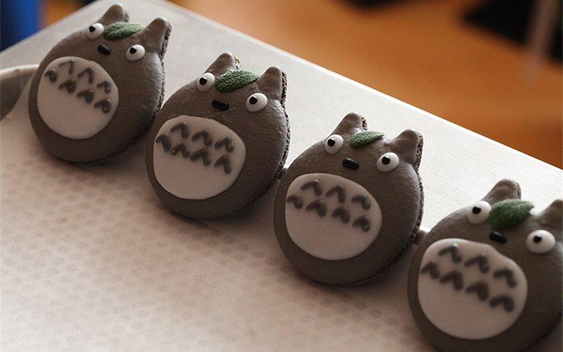 Cách làm Bánh macaron Totoro
