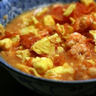 Cách làm tôm sốt trứng cà chua