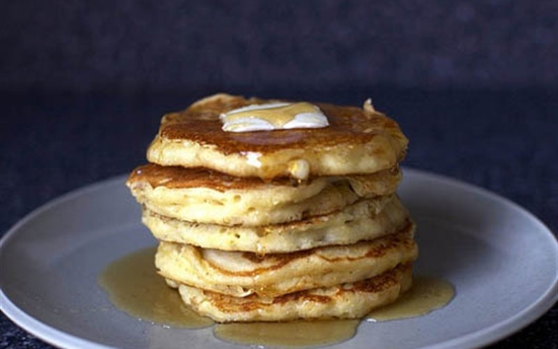 Cách làm Bánh pancake bắp