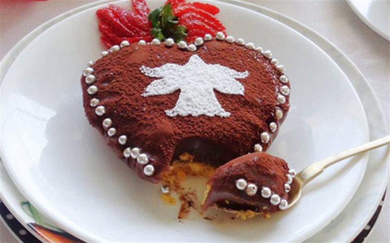 Cách Làm Bánh Chocolate Trái Tim Ngọt Ngào Hấp Dẫn