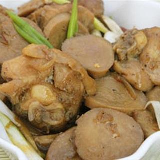 Cách làm thịt gà kho nấm