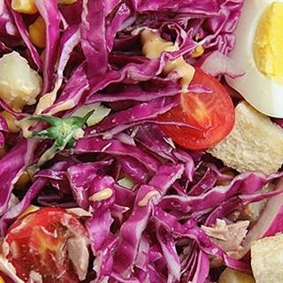 Salad bắp cải tím giảm cân