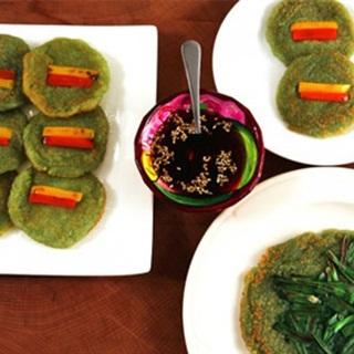 Cách làm pancake khoai tây kiểu Hàn