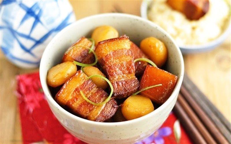 Cách làm Thịt Kho Củ Năng lạ miệng đưa cơm trong bữa ăn nhà