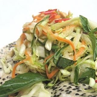 Cách làm gỏi gà trộn bắp cải