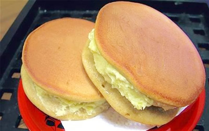 Cách Làm Bánh Chiên Doremon Nhân Khoai Lang Cực Dễ