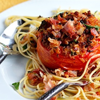 Cách làm Spaghetti Cà Chua Nướng mới lạ cho ngày cuối tuần