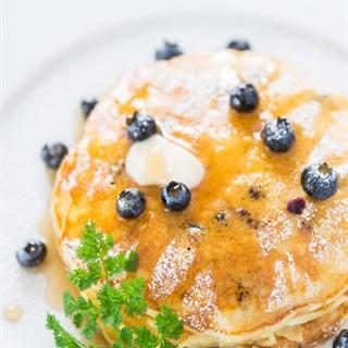 Cách Làm Pancake Sữa Chua Việt Quất Cực Kỳ Ngon