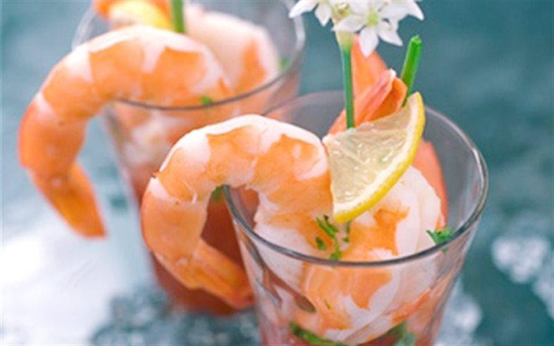 Cách làm Cocktail Tôm với sốt cà chua hấp dẫn, thơm ngon