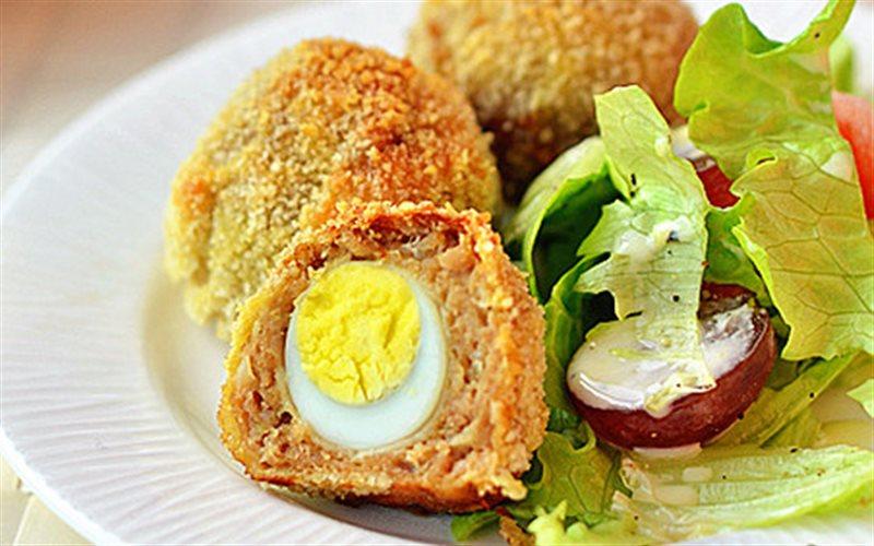 Cách Làm Trứng Cút Bọc Thịt Bằm Thơm Ngon Đơn Giản