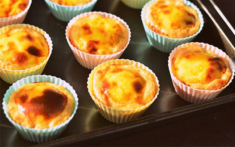 Cách làm bánh tart trứng kiểu Tây Ban Nha