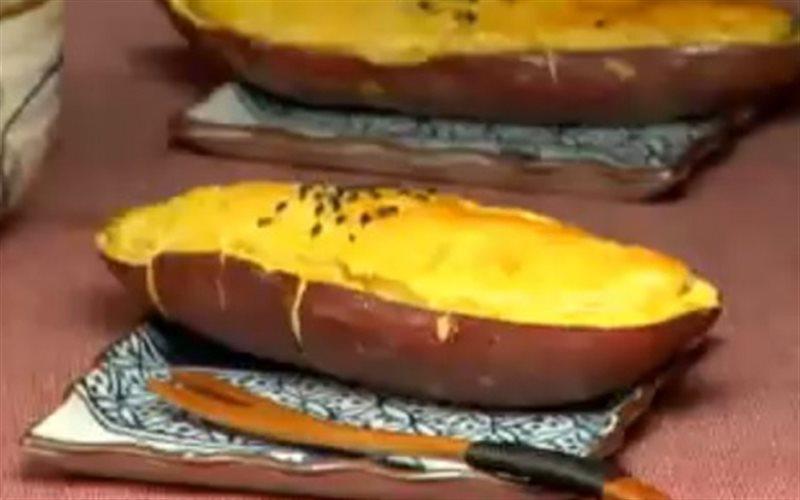 Cách Làm Khoai Lang Tẩm Mè Nướng Ăn Vặt Thơm Ngon