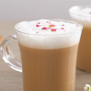 Cách làm trà sữa hoa hồng
