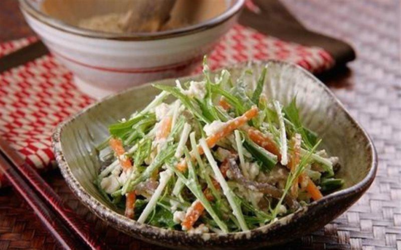 Cách Làm Salad Đậu Hũ Rau Quả Cho Bạn Ăn Kiêng
